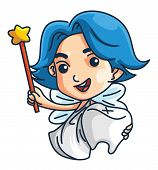 picture of tooth-fairy  - fairy tooth Editable  - JPG
