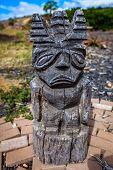 Tiki Tiki Statue