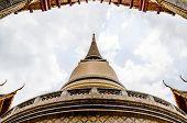 Thai Temple And Pagoda