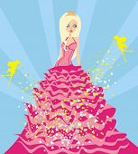 Beautiful Princess And Fairy