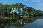 Sviatogirsk Lavra On Chalk Mountains