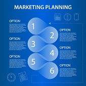 Timeline Marketing Planning Ifographic