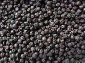 picture of chokeberry  - Dried fruits chokeberry   - JPG