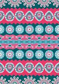 Abstract Vector Ethnic Seamless Pattern.