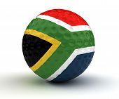 South African Golf Ball