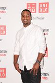 LOS ANGELES - OCT 9:  Raheem Johnson at the UNIQLO Los Angeles Opening at UNIQLO, Beverly Center on October 9, 2014 in Beverly Hills, CA