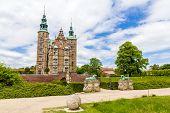 image of copenhagen  - Entrance to the Rosenborg Castle in Copenhagen Denmark - JPG