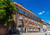 foto of copenhagen  - Buildings in the city center of Copenhagen Denmark - JPG