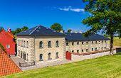 pic of copenhagen  - Barracks in Kastellet fortress - Copenhagen, Denmark ** Note: Soft Focus at 100%, best at smaller sizes - JPG