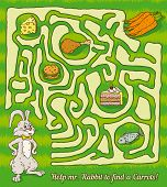 picture of game-fish  - Rabbit Maze Game - JPG