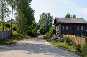 Street In Small Provincial Russian Town
