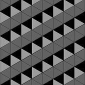 Stylish texture. Repeating geometric tiles. Vector illustration