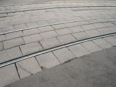 pic of banquette  - image of many street railway at dry day - JPG