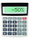 Calculator With -50