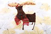 Reindeer And Leaves