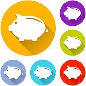Piggy Icons