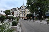 Baden-baden, Germany July 7, 2014: View Of The Hotel