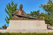 Confucius Bronze Statue