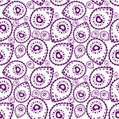 Tribal pattern in purple color