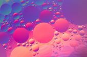 stock photo of psychedelic  - Psychedelic oil and water abstract - JPG