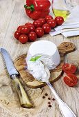 Ricotta Cheese And Tomatoes