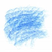 Vector blue chalk background