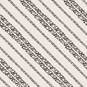 Seamless pattern of triangles