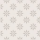 Seamless geometric pattern in two colors