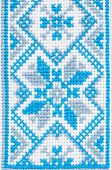 Ukrainian embroidery a fragment of male shirts