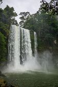 Misol-Ha Falls at Chiapas, Mexico.