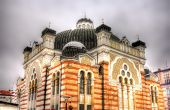 foto of synagogue  - Sofia Synagogue the largest synagogue in Southeastern Europe  - JPG
