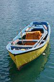 Yellow Rowboat