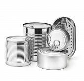 Metal Tin Cans