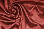 Smooth Elegant Brown Chocolate Silk As Background