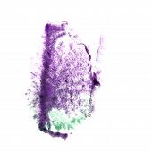 Blot divorce illustration purple, green artist of handwork is is
