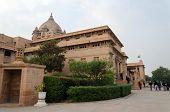 Jodhpur, India - January 1, 2015: People Visit Umaid Bhawan Palace