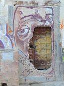 Graffiti in the Albaycin Granada