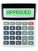 Calculator With Approved On Display