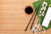 pic of soy sauce  - Chopsticks - JPG