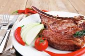 stock photo of baby back ribs  - savory  - JPG