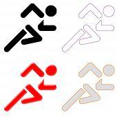 Race Course Symbol