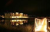 Waterfront Inn With Bridge