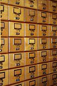 Wooden Boxes Background