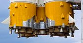 Details of space rocket engine
