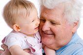 Smiling Baby mit Gramps