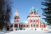 stock photo of uglich  - Church of the Prince Dimitry - JPG