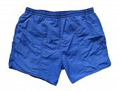 Swimming Shorts - Blue poster