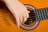 Clouse-Up Acoustic Guitar.