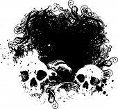 Vector Fear Grunge Illustration