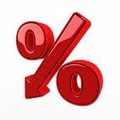 red percent